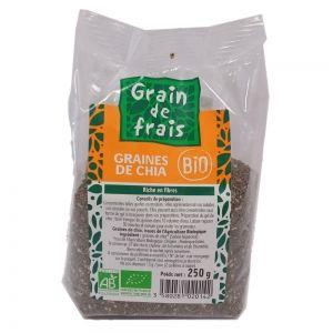 graines de chia bio grain de frais bio 250g