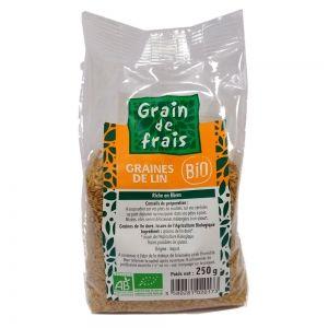 graines de lin dore bio 250 gr