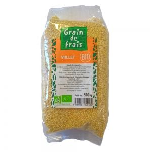 millet decortique bio grain de frais bio 500g