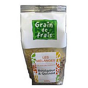 melange boulgour quinoa  400gr