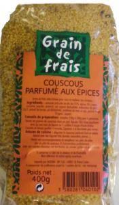 graines de couscous aux epices 400gr