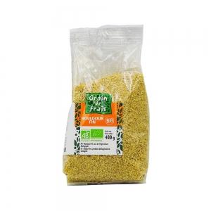 boulgour fin bio paquet 400g grain de frais