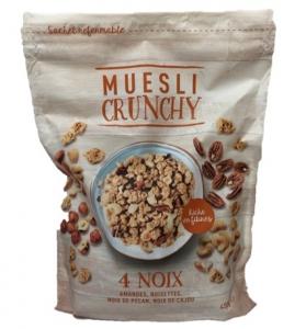 muesli croustillant noix 450 gr