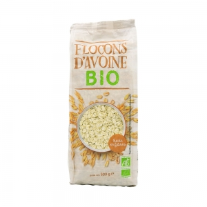 flocons d'avoine bio paquet 500g ct