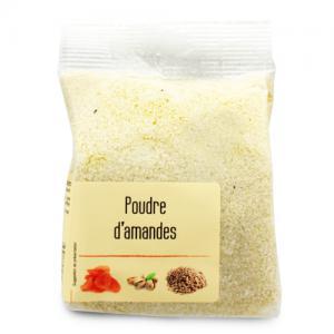 poudre d'amandes blanchies paquet 150g