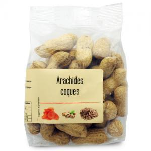 arachides coques paquet 95g
