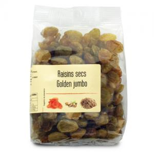 raisins secs golden jumbo chili paquet 240g