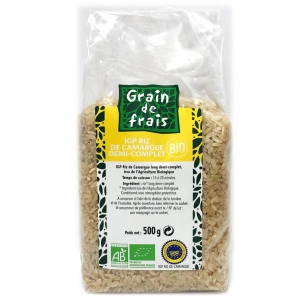 riz demi complet bio camargue igp 500gr