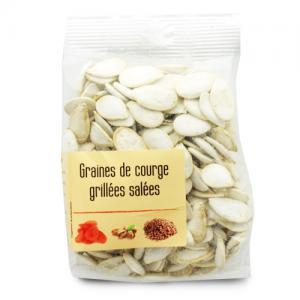 graines de courge grillées salées paquet 120g