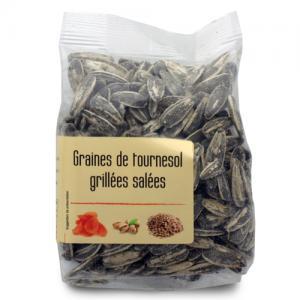 graines de tournesol grillées salées paquet 100g