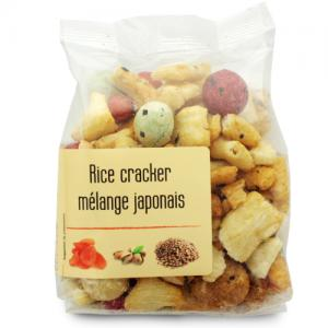 rice cracker mélange japonais paquet 120g