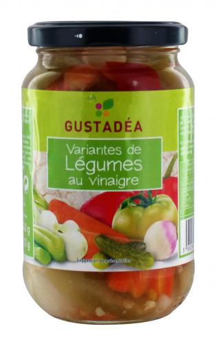 variantes de legumes au vinaigre gustadea 340g
