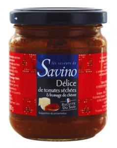 delice de tomate séchées et fromage de chevre 180g