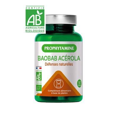 baobab acerola defenses bio 41 g 90 gelules
