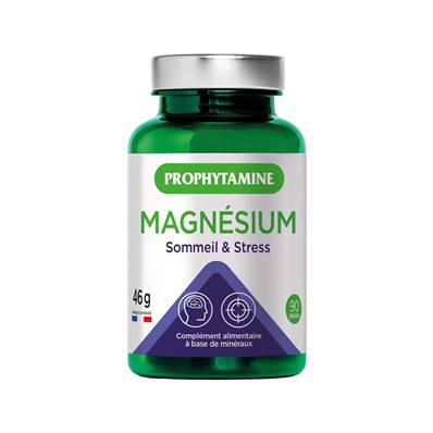 maganesium sommeil stress 46 g 90gelules
