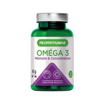 omega 3 memoire concentration  45g 90 gelules