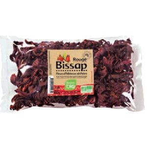 fleurs d'hibiscus bissap bio  100gr
