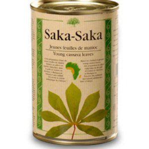 feuilles de manioc 410gr saka