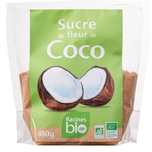 sucre de fleur de coco bio 480gr