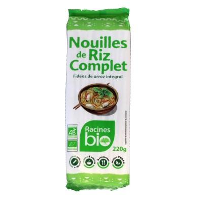 nouilles de riz complet bio 220g