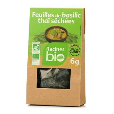feuilles de basilic thai sechees bio 6g