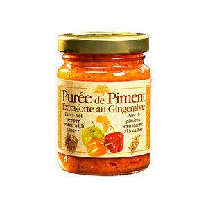 puree de piment extra forte au gingembre 200g
