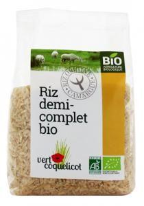 riz demi complet camargue bio 500gr