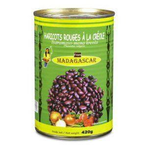 haricots rouges creole codal