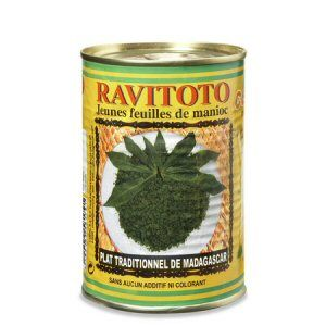 jeunes feuilles de manioc ravitoto cdal 420g