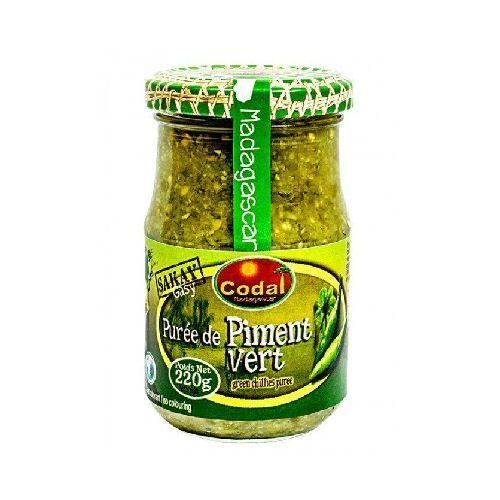 pate de piment vert de madagascar codal 220g