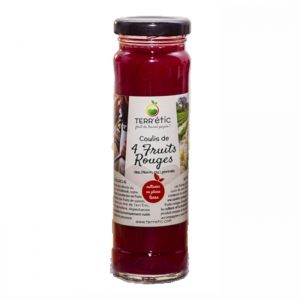 coulis 4 fruits rouges 156ml