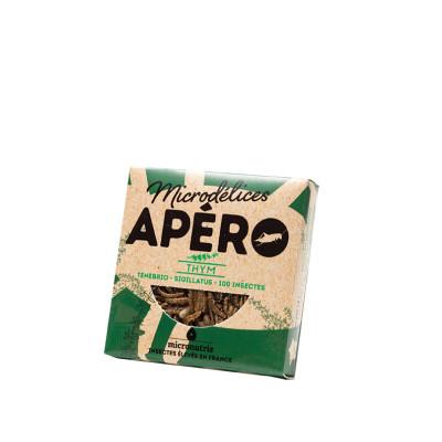 mix de ténébrions & grillons thym - apero 100 - insectes comestibles