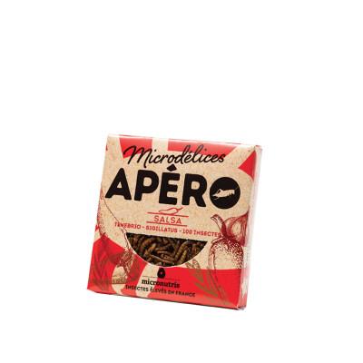 mix de ténébrions & grillons salsa - apero 100 - insectes comestibles
