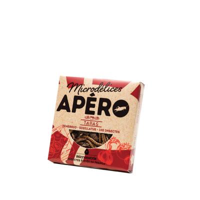 mix de ténébrions & grillons tapas - apero 100 - insectes comestibles
