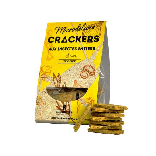 crackers tex mex ténébrion - insectes comestibles