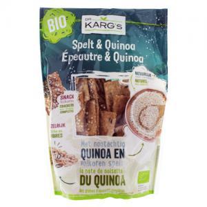 mini crackers épeautre & quinoa bio 110g dr karg's