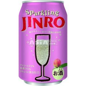 jinro petillant japonais a la peche 3% vol