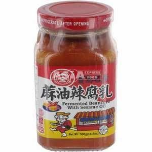 tofu fermente à l'huile de sesame