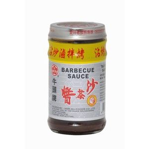 sauce barbecue bbk bull head 127 g