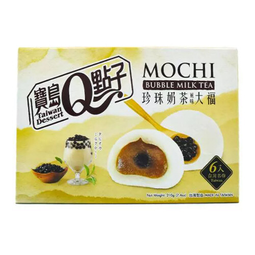 6x mochi bubble tea 210g