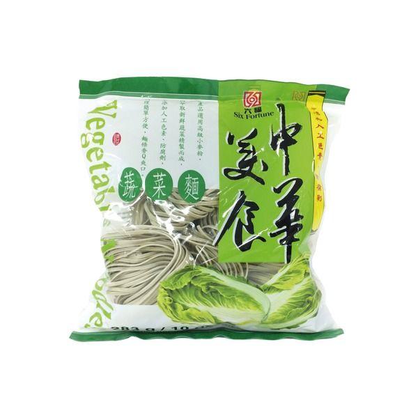 nouilles de ble aux legumes 283g six fortune