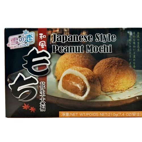 mochis cacahuette 210gr yuki