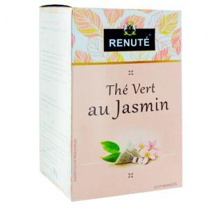thé vert au jasmin 20 sachets pyramides renuté
