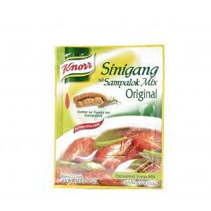 preparation soupe tamarin sinigang sampalok knorr 40g