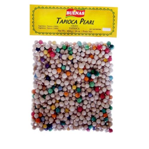 boule de tapioca multi colore grosse 454gr