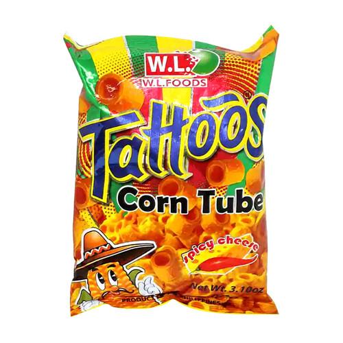 tube maïs fromage epicés ph tattoos 88gr