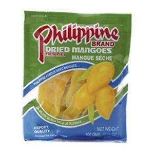 mangue séchées 100gr phillippine br