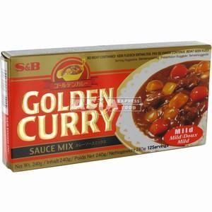 golden curry japonais doux 220gr