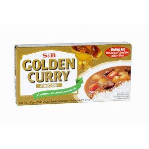 golden curry japonais semi fort 220gr
