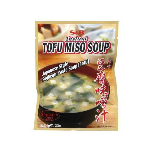 3 x soupe aka miso instantanne 30g